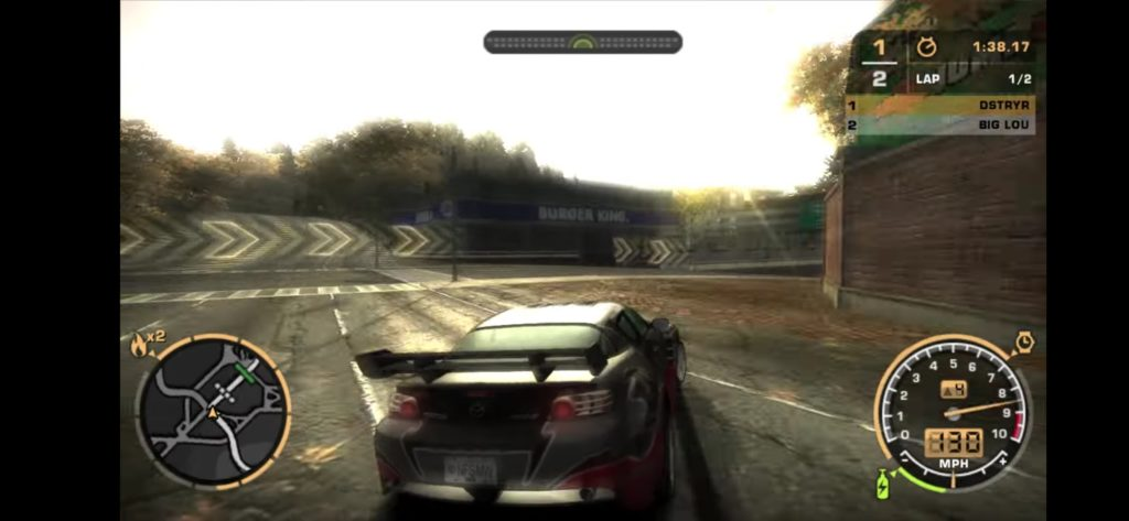 NFS Most Wanted 2005 about