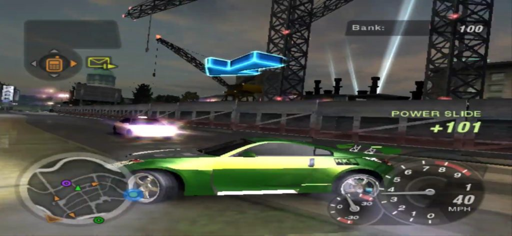 NFS underground 2 gameplay