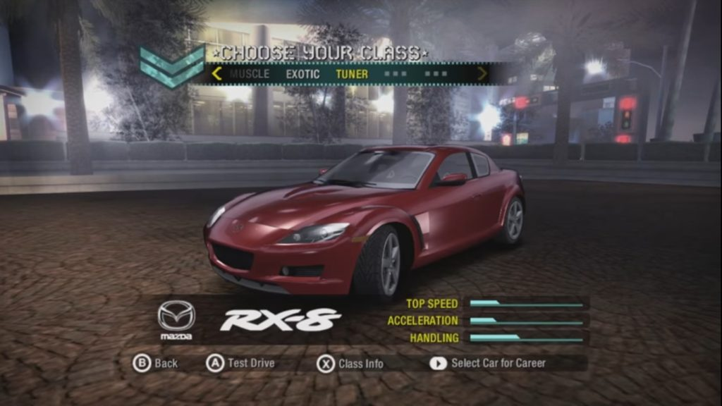 System requirements of NFS Carbon