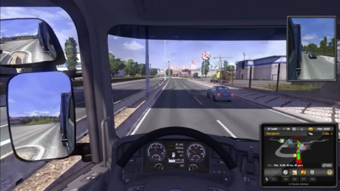 Euro Truck Simulator 2 Highly Compressed