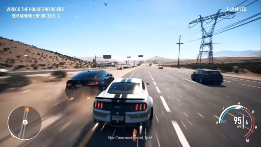 System requirements of NFS Payback